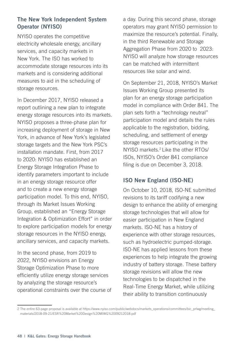 Energy Storage Handbook Vol 3